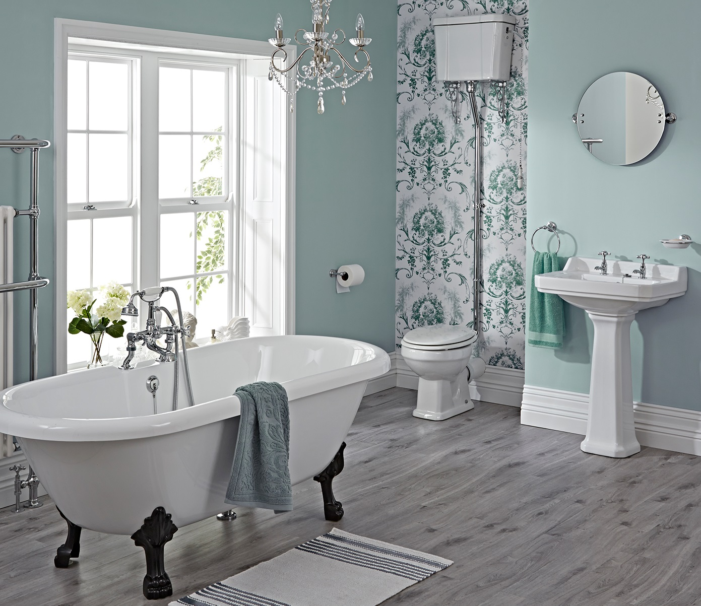 Bathroom Ideas: Create A Feeling Of Nostalgia