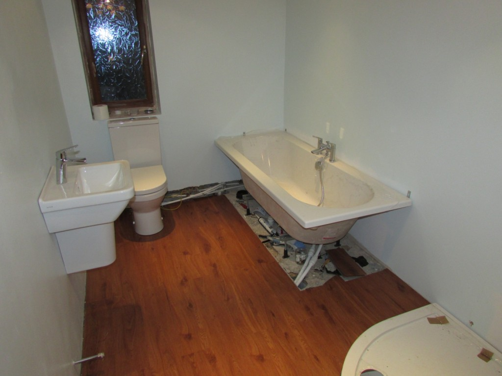 Bathroom Renovation Work In Progress