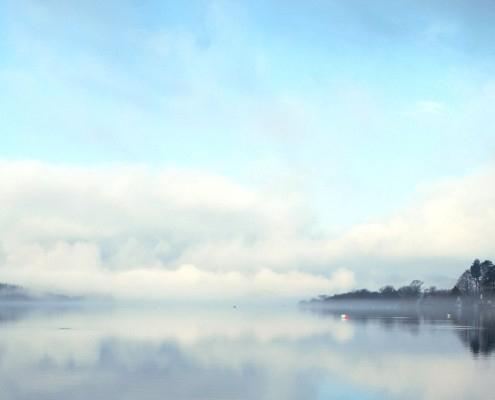 Lake Windermere Cumbria England
