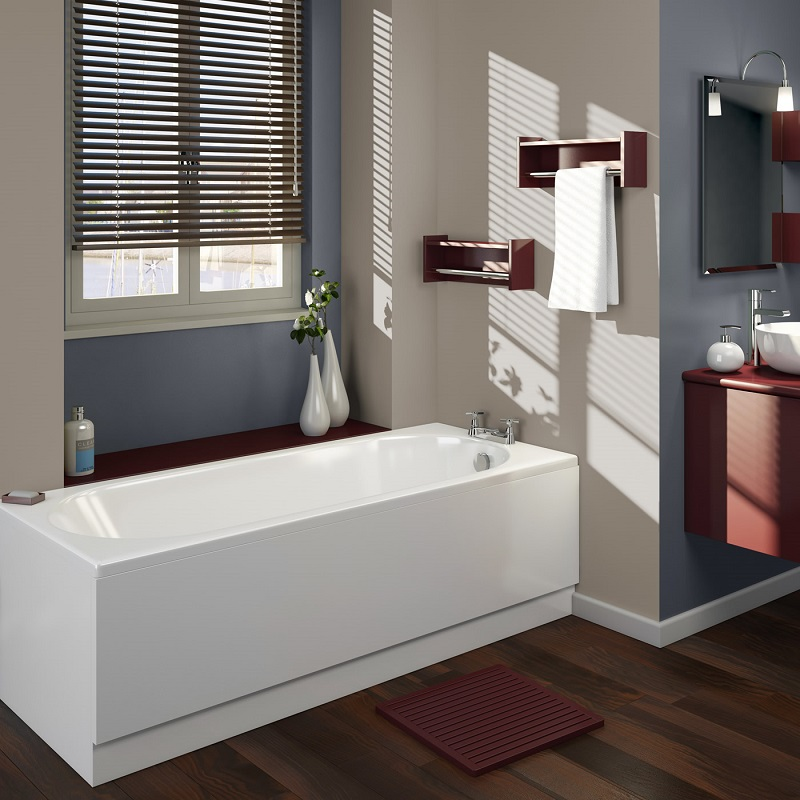 Bathroom Fitting Images: How To Fit An Acrylic Bath Panel