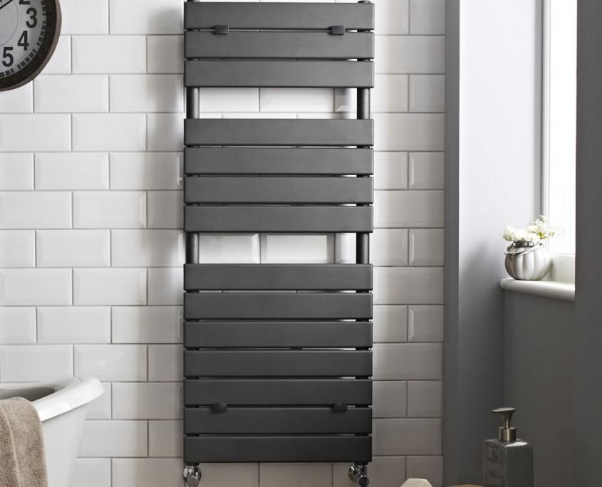 Hudson Reed designer heated towel rail