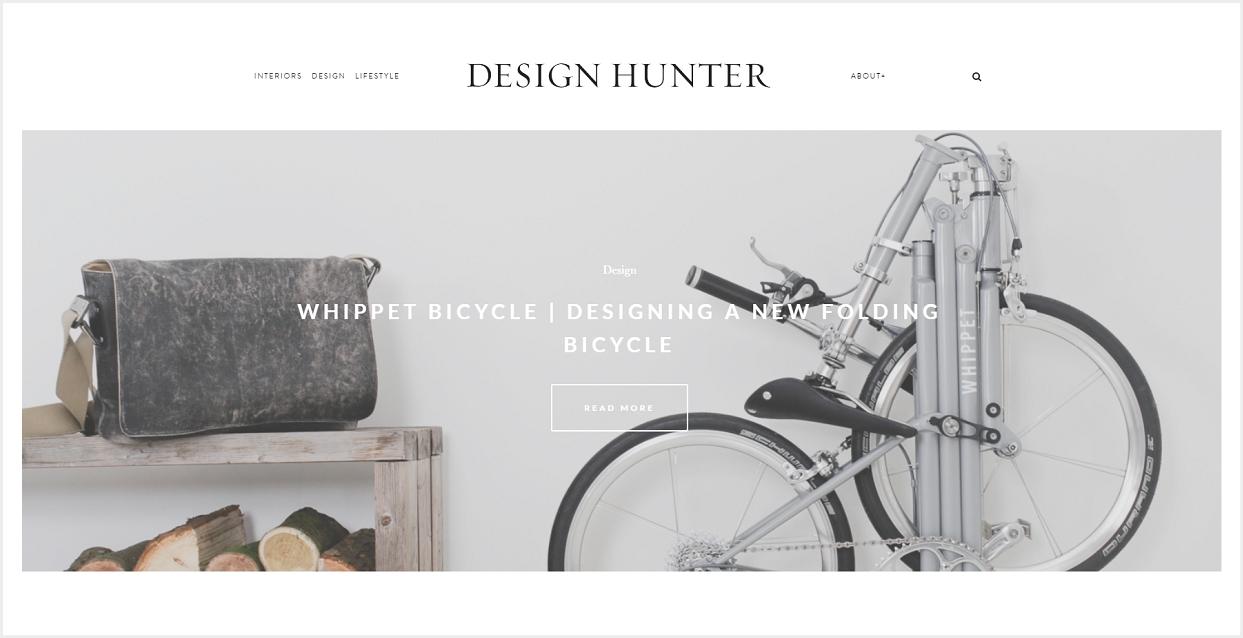 Design Hunter blog