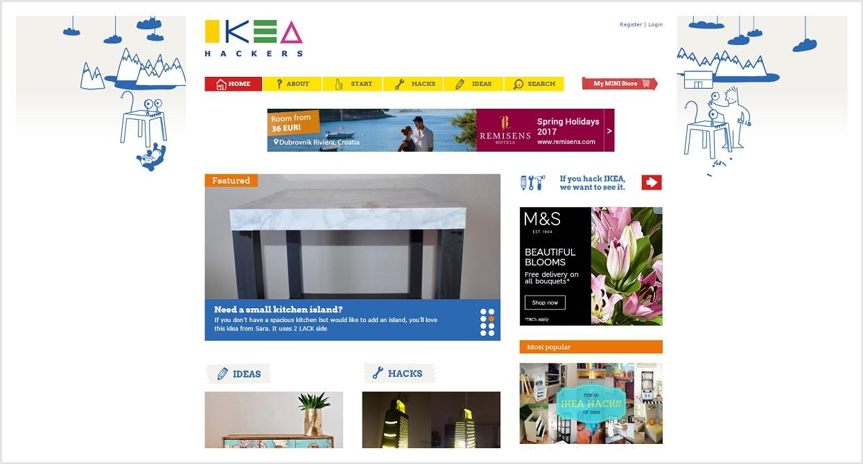 IKEA Hackers blog
