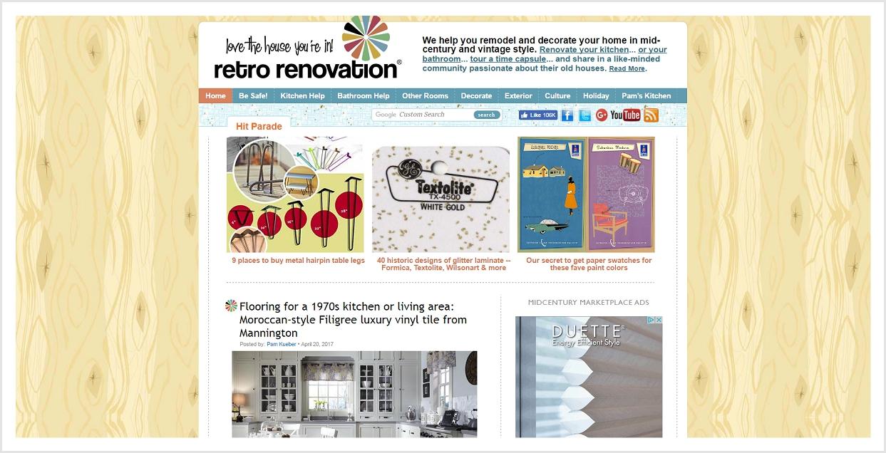 Retro Renovation blog