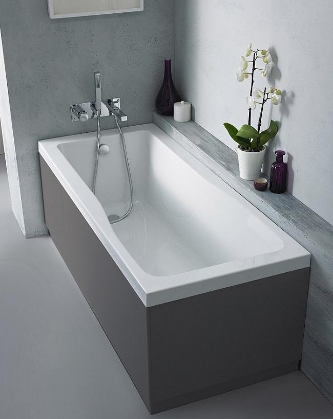 On Trend Grey Bathroom Ideas Bigbathroomshop - Grey-bathroom-ideas