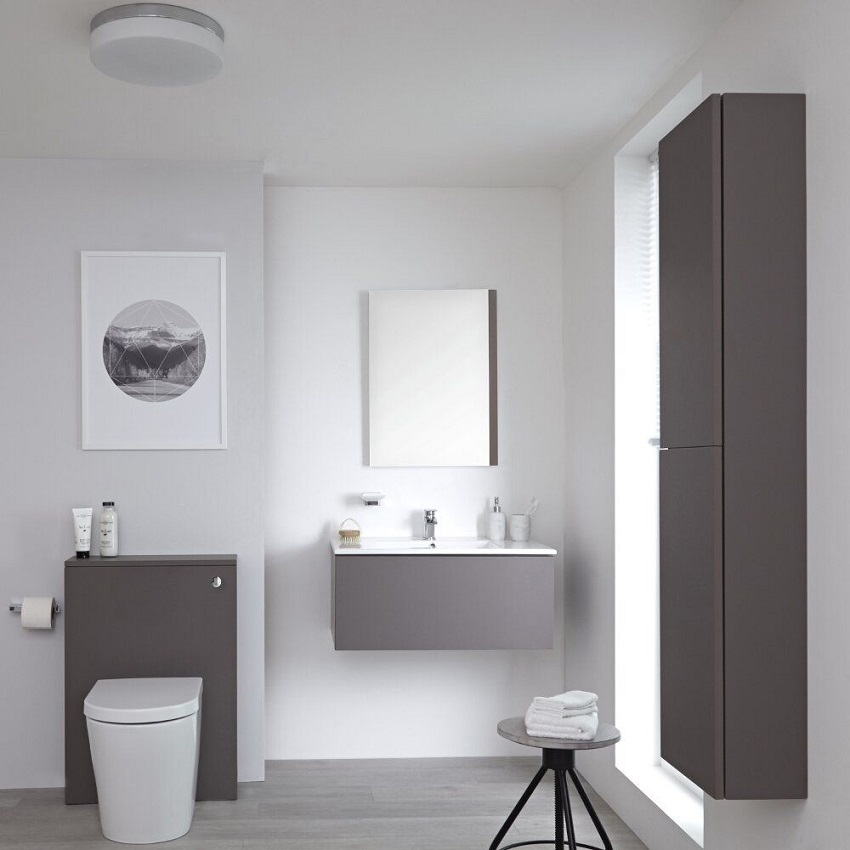 Grey Bathroom Furniture Uk: 6 Reasons To Include A Vanity Unit In Your Bathroom