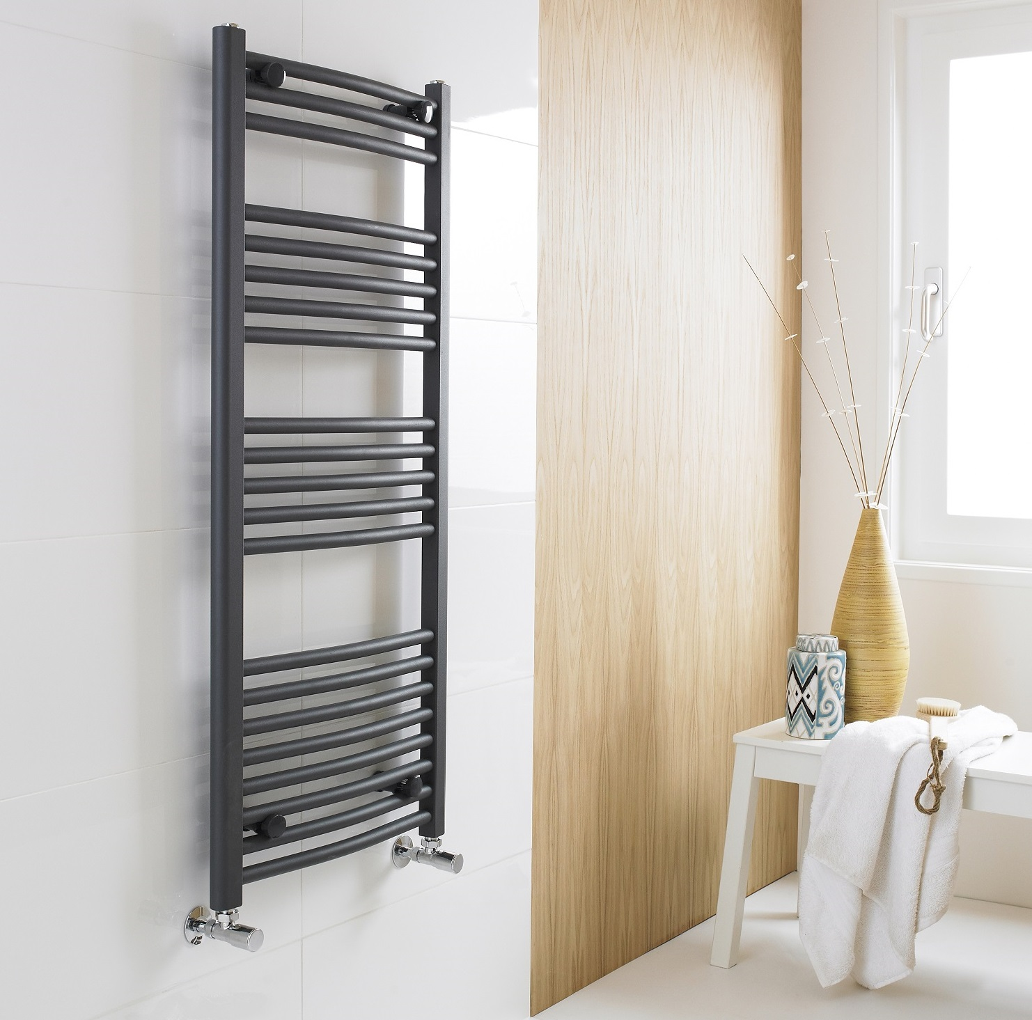 Alpine Modern Heated Towel Rail Warmer Chrome: Bathroom Towel Rails - How To Choose The Best One