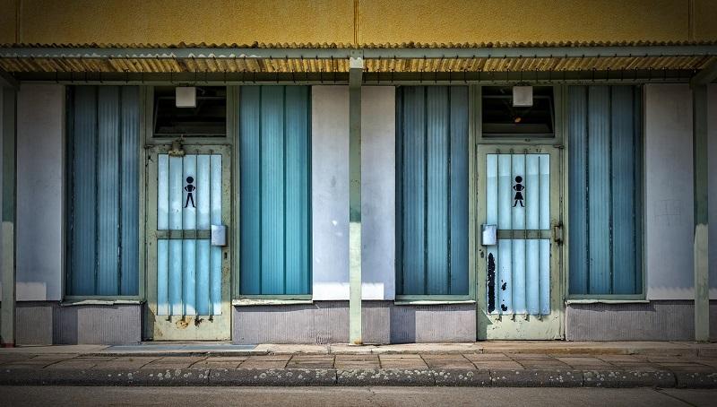 public toilets on street