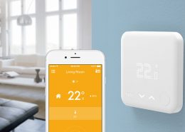 tado smart thermostat and mobile app