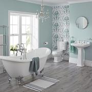 traditional bathroom suite