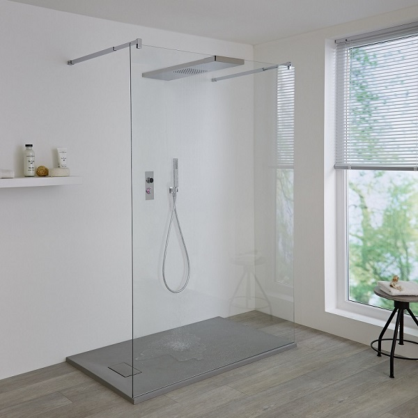 digital shower and walk in shower