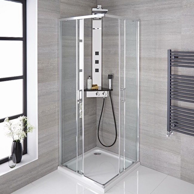 Groovy The Best Shower Enclosures For Maximising Space In Small Download Free Architecture Designs Salvmadebymaigaardcom