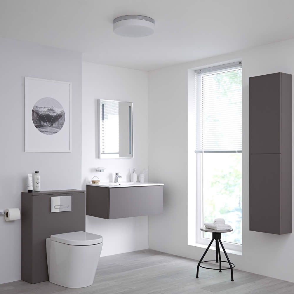 Gray Home Design Ideas: The Bathroom Furniture Buying Guide