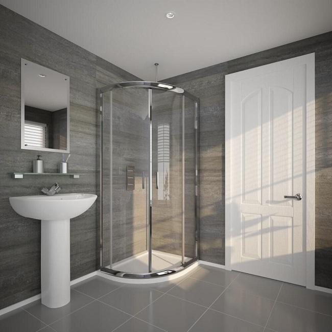 quadrant shower enclosure