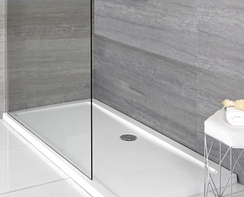 low profile shower tray