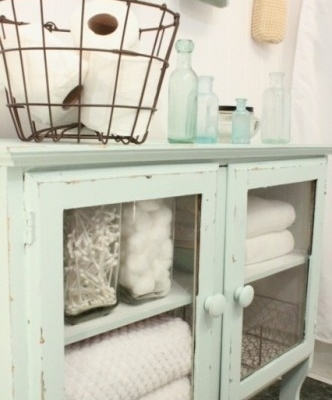 Painted tranquil dawn furniture