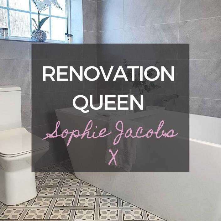 Sophie Jacobs bathroom renovation