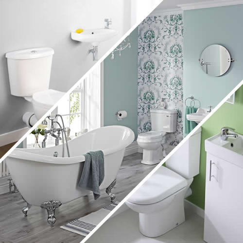 Bathroom Suites by Room