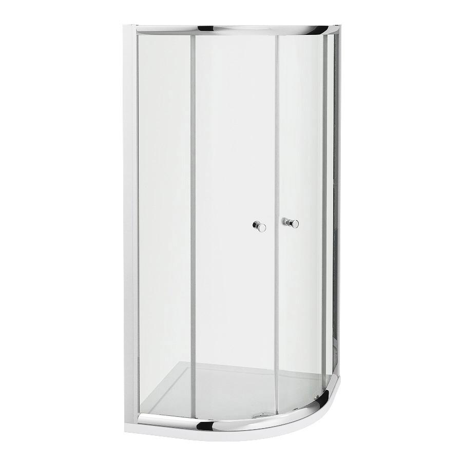 Milano Hutton 900mm Quadrant Shower Enclosure 5mm