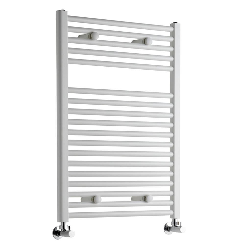 Sterling Premium White Flat Heated Towel Rail 800mm x 600mm