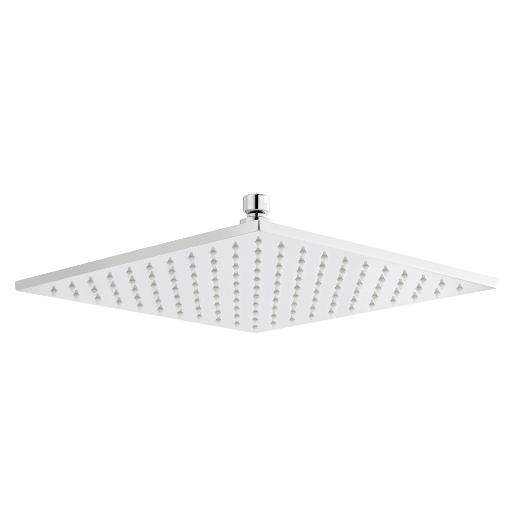 Premier Square LED Fixed Shower Head 200mm