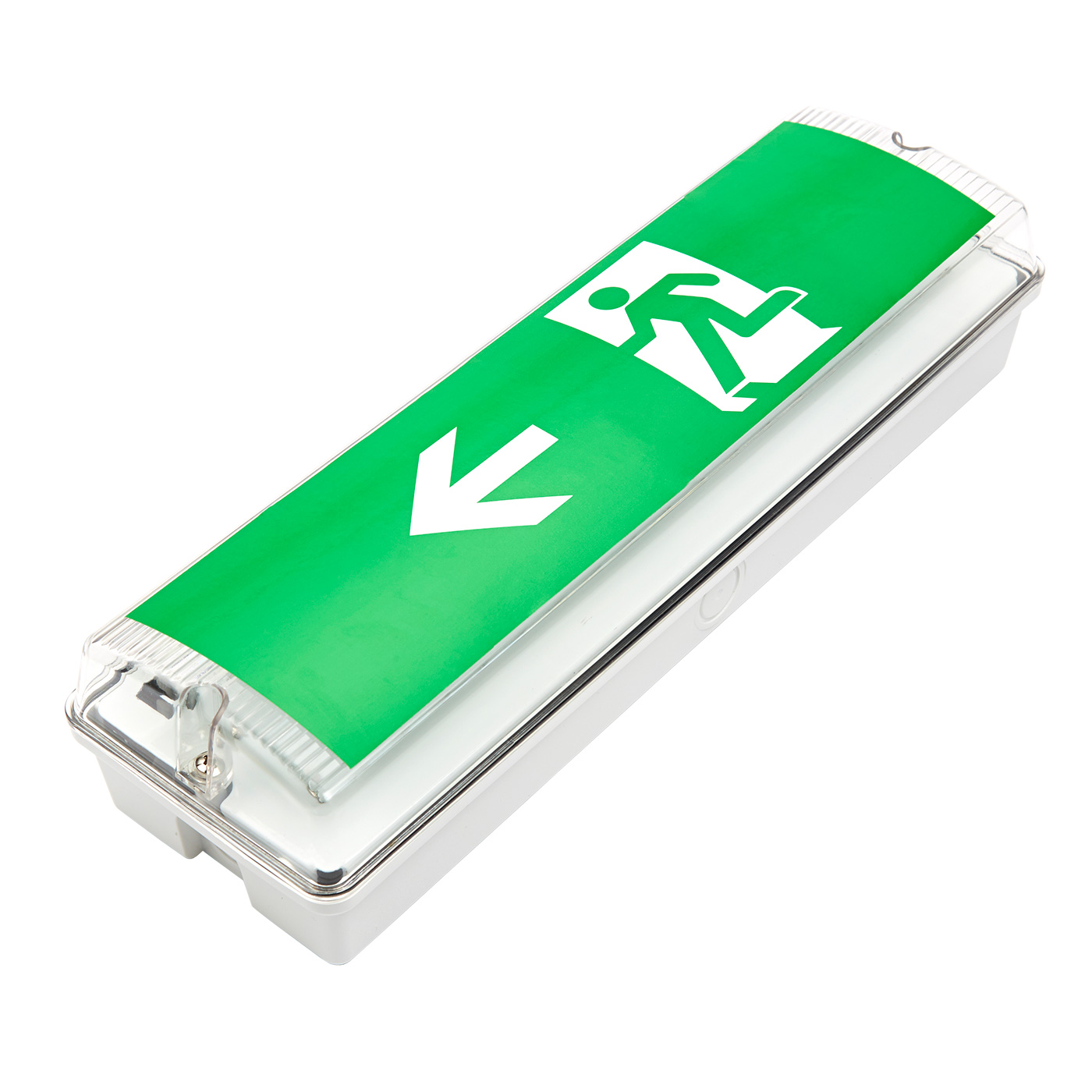 Biard Left Exit Sign Emergency Light - Maintained or Non Maintained