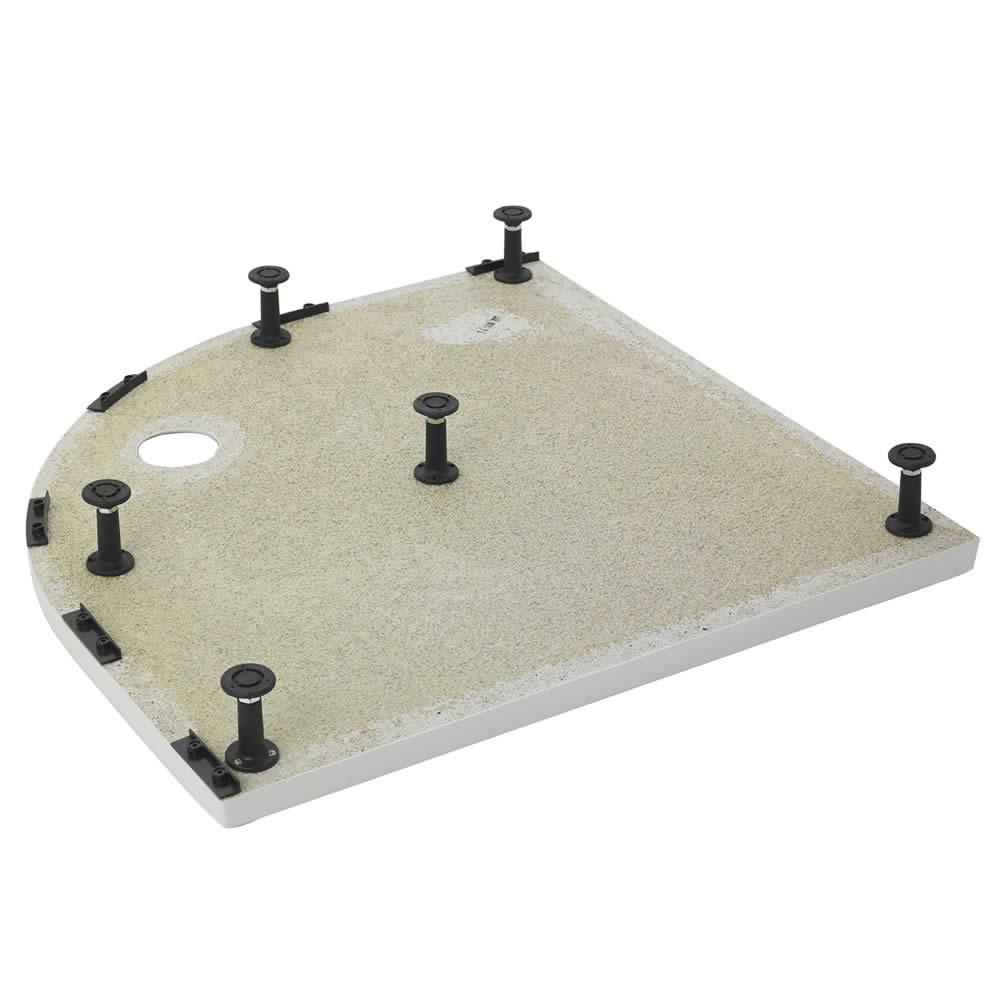 Ultra Leg Set & Panel Kit for Offset Quadrant Shower Trays 1200 x 900mm Panels
