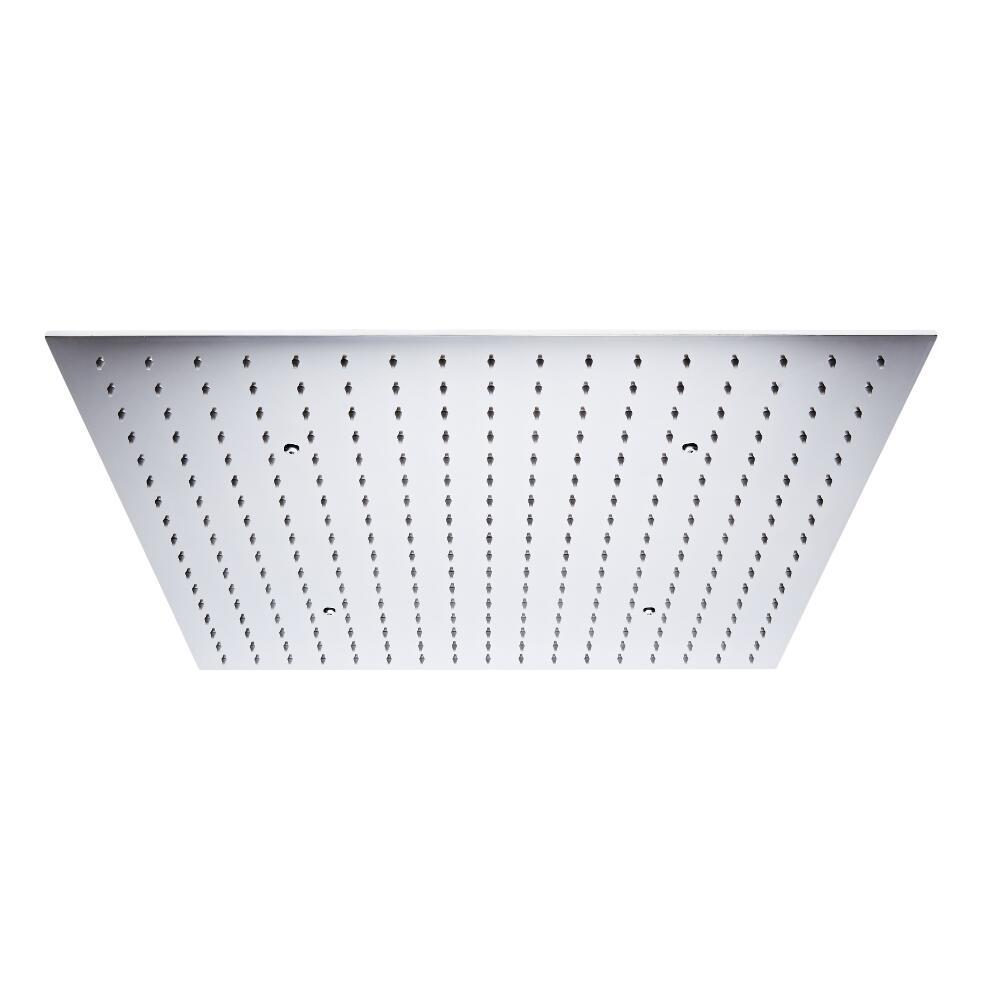 Milano Trenton - 600mm Square Ceiling Head polished Chrome