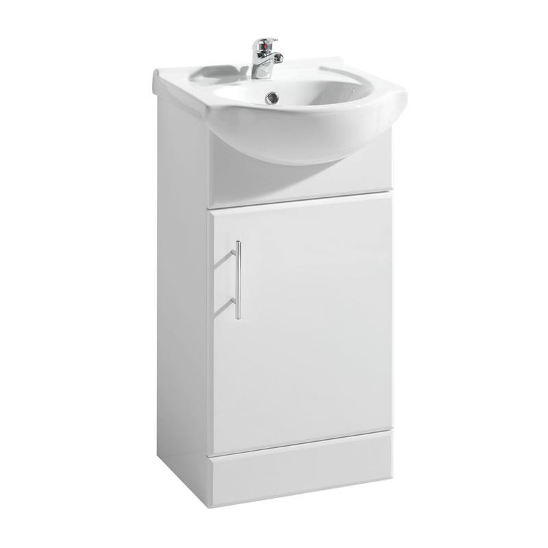 Premier 450mm x 300mm Vanity Unit Cabinet and Basin
