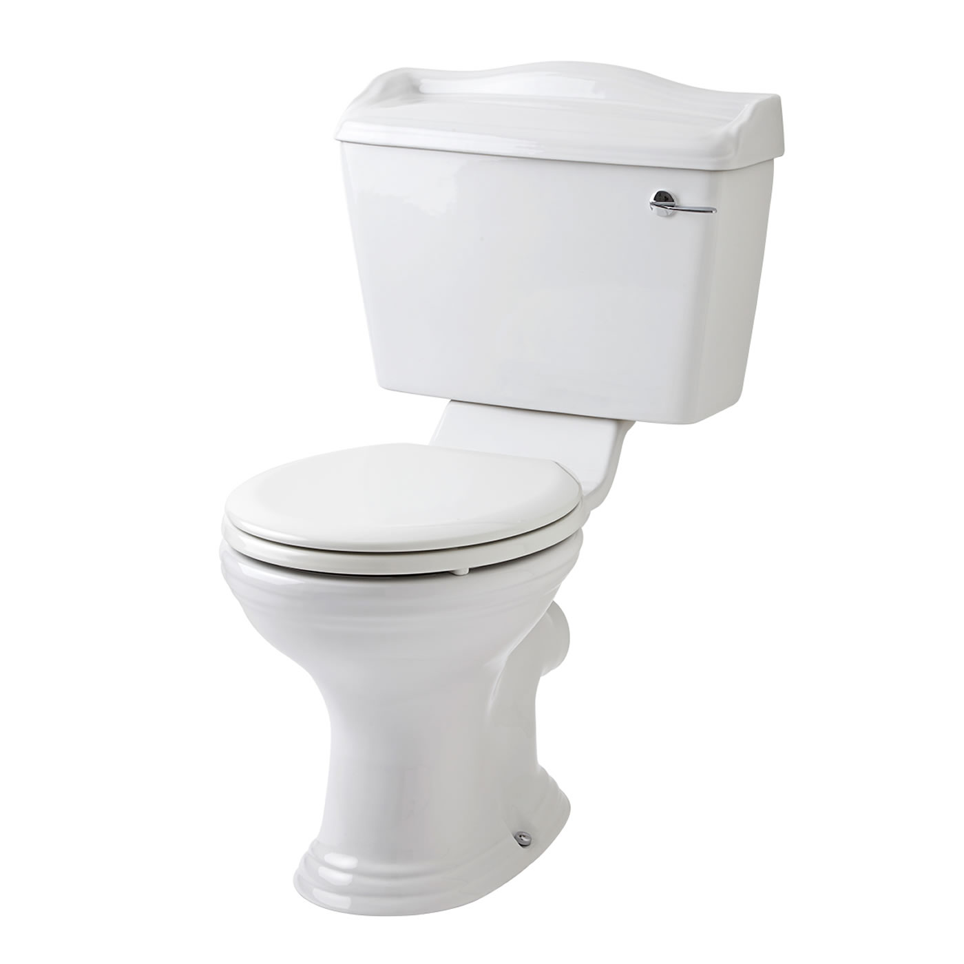 Premier Ryther Toilet, Cistern and Wooden Seat
