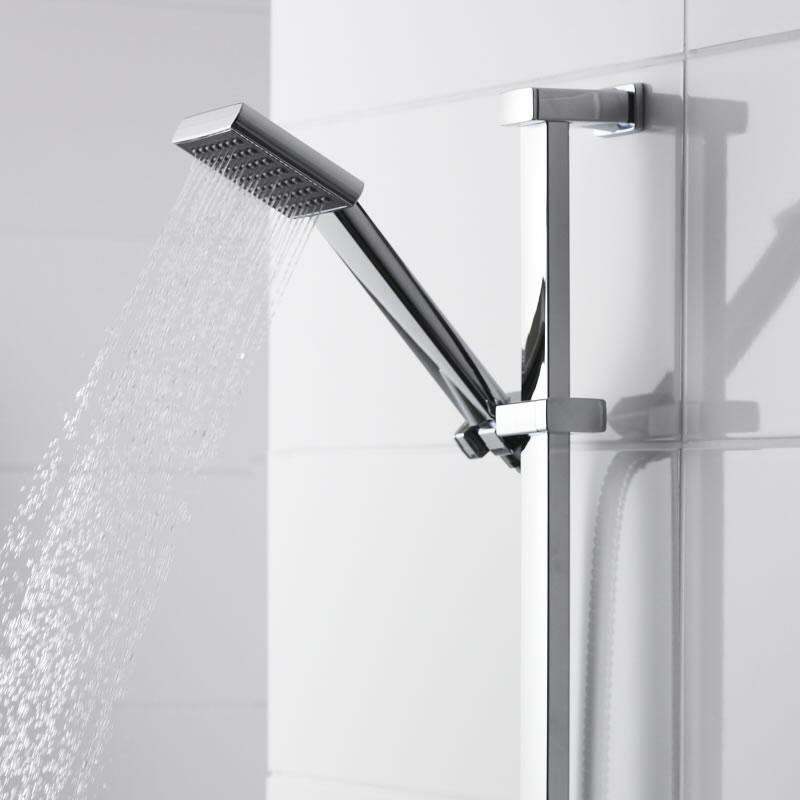 Premier Rectangular Shower Slide Rail Kit