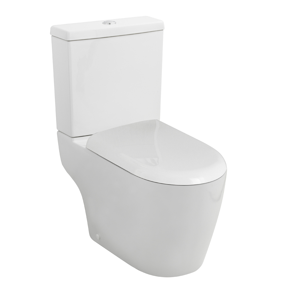 Premier Provost Toilet Pan, Cistern and Soft Close Seat