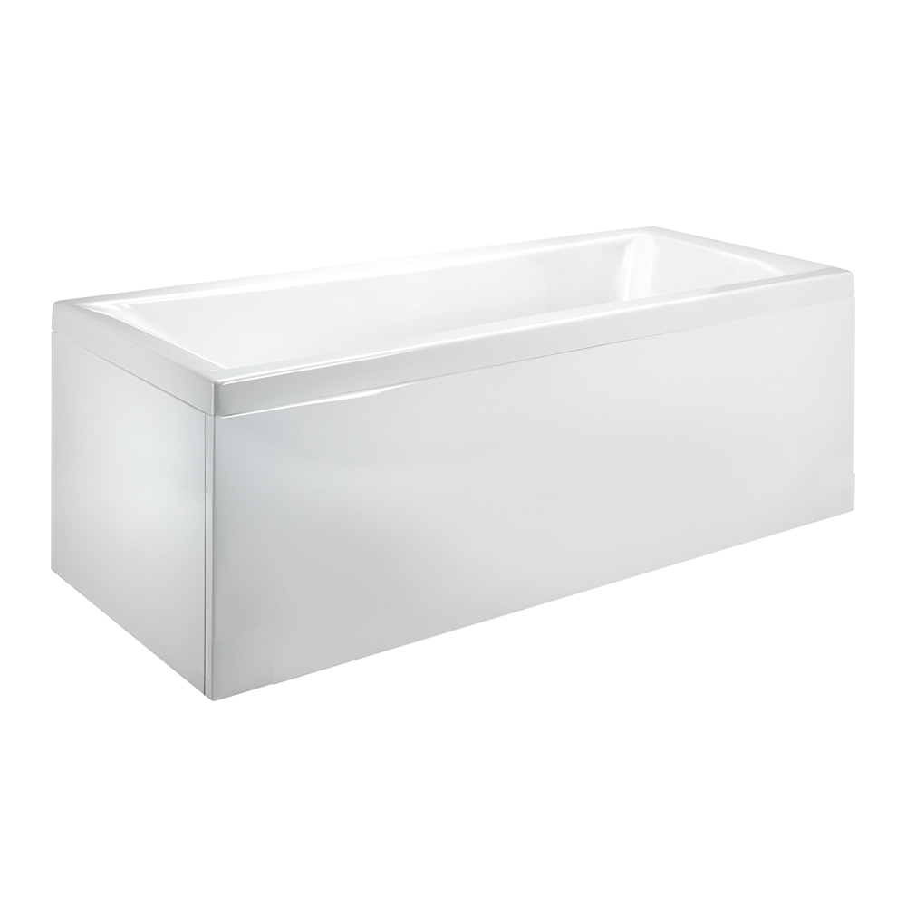 Milano Ice 1800 x 800mm Single Ended Standard Bath