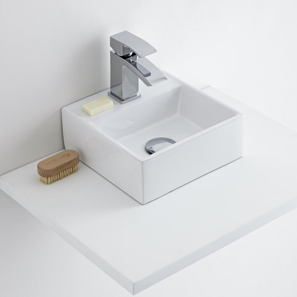Milano Dalton - Ceramic Countertop Basin 280 x 280mm