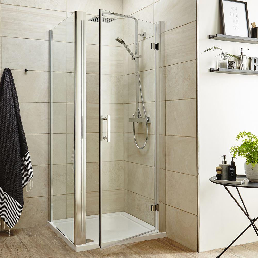 Premier 900mm Hinged Shower Door