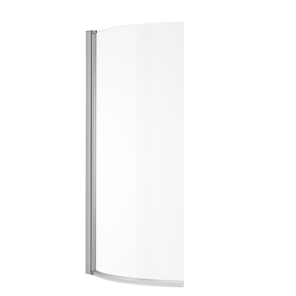 Milano Newby 1675mm P Shape Curved Shower Bath Panels