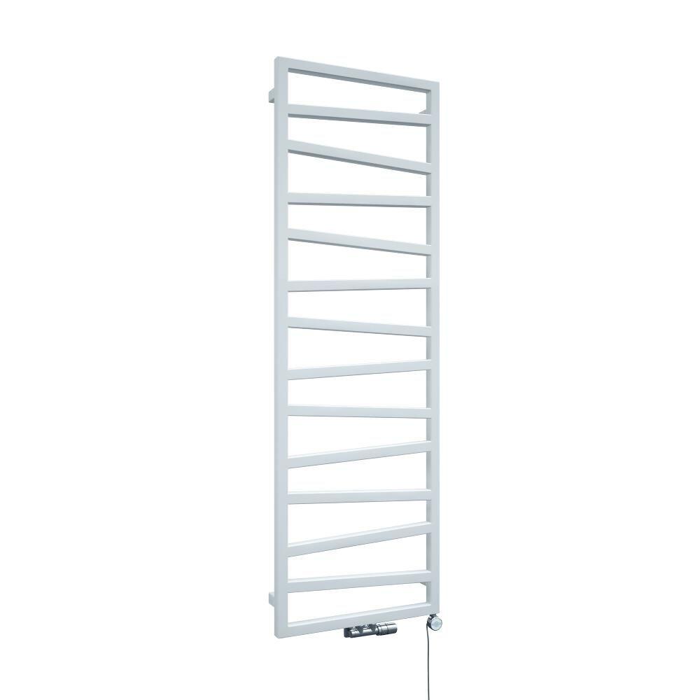 Heated Towel Rail Vertical: White Vertical Heated Towel Rail 1545mm X 500mm