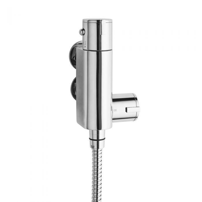 Ultra Vertical thermostatic bar valve