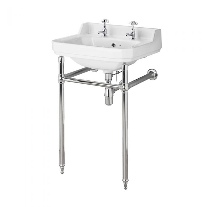 Old London 560mm Richmond 2TH Basin & Washstand
