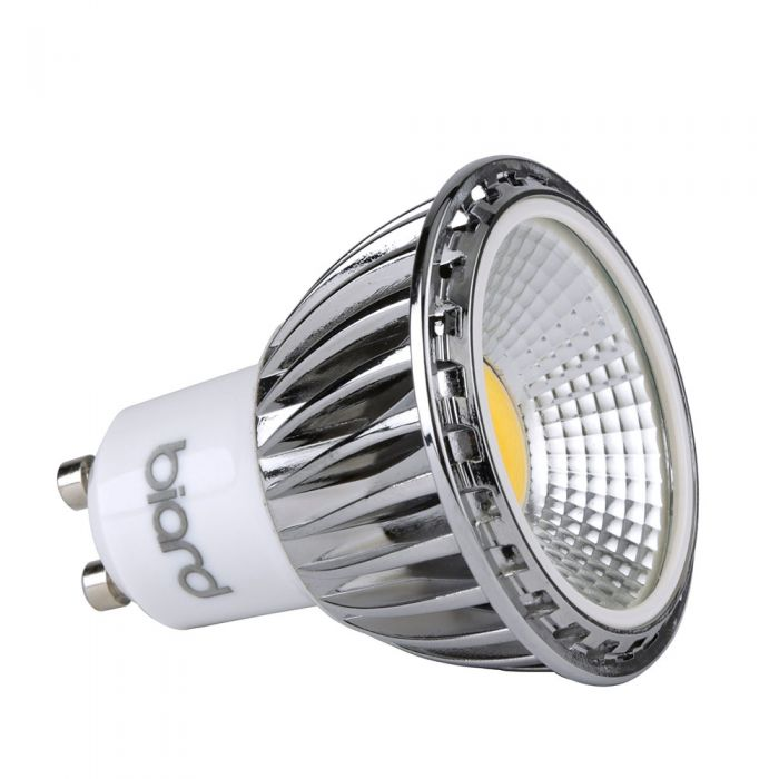 Biard 5W Dimmable COB LED Spotlight GU10 - Equivalent To 50W with True Retrofit