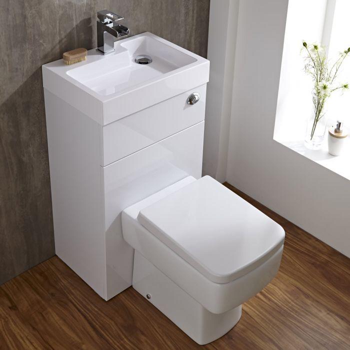 Milano Bliss Combination Toilet & Basin Unit