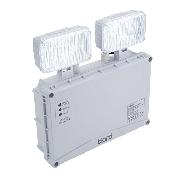 Biard LED Twin Emergency Spotlight IP65