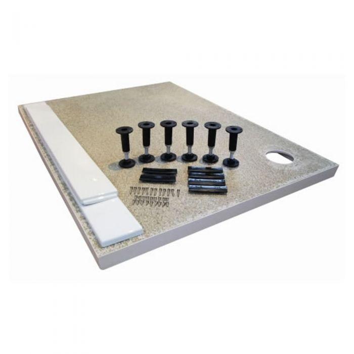 Ultra Leg Set & Panel Kit for Large Rectangular Shower Trays 1700 x 1000mm Panels
