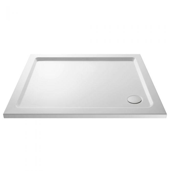 Pearlstone Rectangular Shower Tray 1100 x 900mm