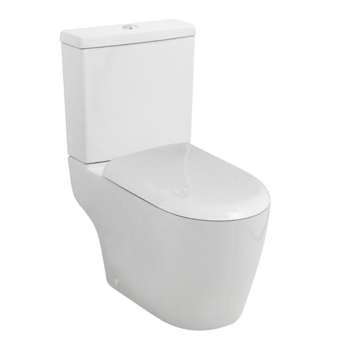 Milano Series 400 Toilet Pan, Cistern and Seat