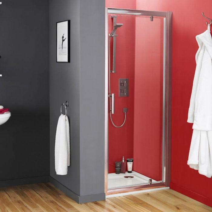 Premier Pacific Pivot Shower Door 800mm