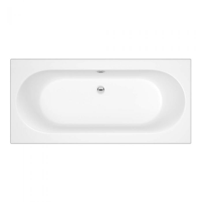 Milano Mineral 1700 x 700mm Double Ended Standard Bath