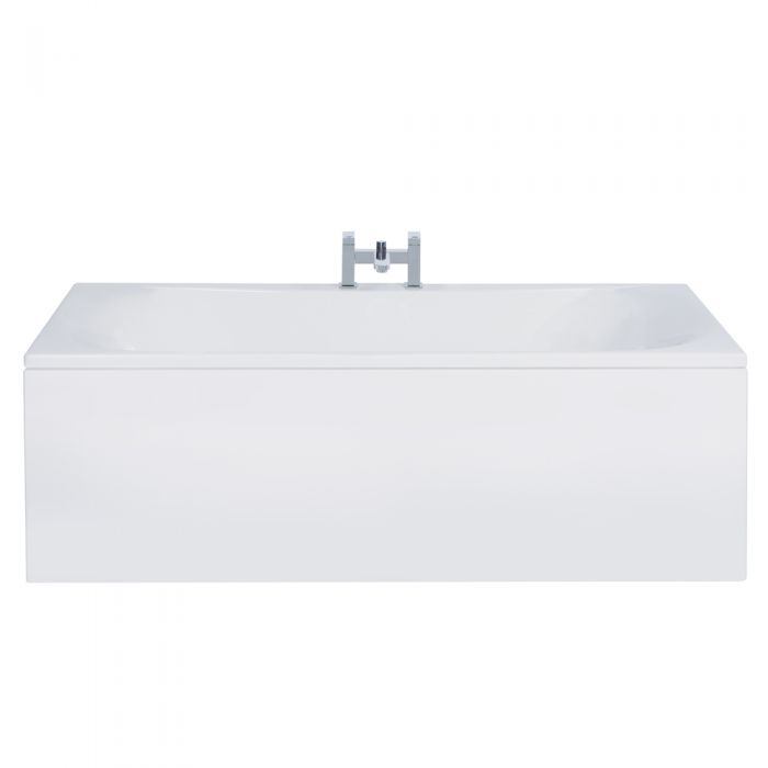 Milano Mineral 1800 x 800mm Double Ended Standard Bath