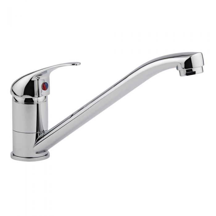 Milano Single Lever Kitchen Sink Mixer Tap with Swivel Spout