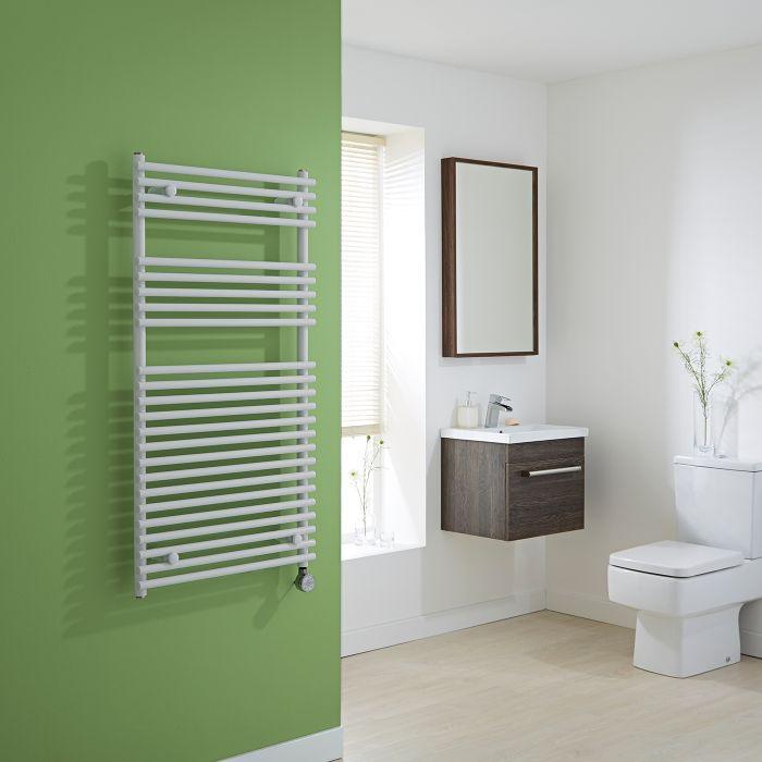 Kudox Electric - Flat White Bar on Bar Towel Rail 1150mm x 600mm